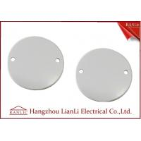 Quality 65mm Steel Junction Box Cover C/W Screw PVC Conduit and Fittings For A B C Grade for sale