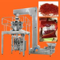 Quality High Speed Multihead Weigher Automatic Packing Machine For Dried Saffron , Cranberries , Fruit for sale