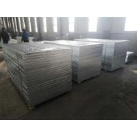 Quality 20x3 Circle Welded Steel Bar Grating With Hole Easy Disassembly Installation for sale