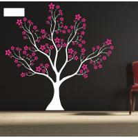 Quality Designer Personalised Star Tree Wall Flower Stickers G063 for sale
