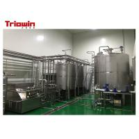 Quality Industrial Apricot Puree Beverage Production Line With Fruit Cleaning Machine for sale