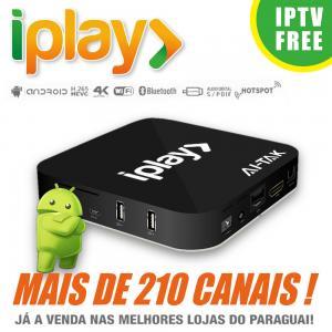 China HDMI 2.0 Brazilian IPTV Box Brasil , Iplay Portuguese TV Box No Time Limited on sale
