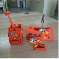China Personalized Soft PVC Cell Phone Holder With Pen Holder For Office Desktop Accessories on sale