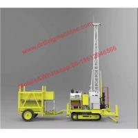 Buy cheap P200g Crawler Portable Drilling Rigs Water Cooled For Geological Exploration from wholesalers