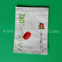 Stand up zipper bag for red dates packing