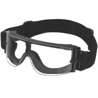 China Fog Resistance Industrial Safety Goggles With Adjustable FR Strap on sale