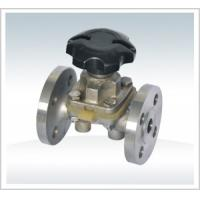 Quality Weir Type Flanged Globe Valve Rubber Lined Flanged Rating 150LBS for sale