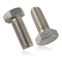 Buy cheap Size M8-M52 Hastelloy B3 Nickel Alloy Fasteners Half Threaded Hex Bolt DIN 961 from wholesalers