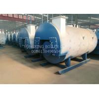 Quality Simple Operating Gas Fired Steam Boiler Residential Total Weight Around 24 ton for sale