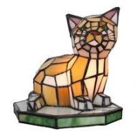 Quality TLC00045-cat tiffany accent lamp table decoration lamp for sale