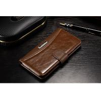 China Xiaomi Mi5 Cell Phone Leather Wallet Case Vintage Anti - Dirt For Drop Protection on sale