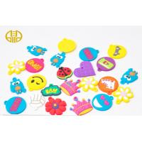 China  Personalized Soft PVC Loom Bracelet Charms For decorate shoes on sale