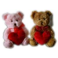 China Plush and Stuffed Teddy Bear with Heart for Valentine′s Toy/Plush and Stuffed Animal Toy (GT-20131014) on sale
