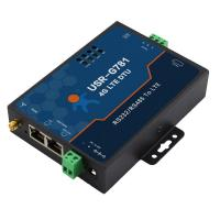 Quality 4G LTE Modem, RS232 RS485 to 3G 4G modem with SMS command for sale