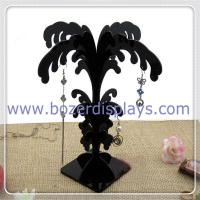 Best Black Acrylic Earring Stand Tree Display Stand Earring Tree Jewelry Display Stands wholesale