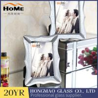 Quality Eco Friendly Retro Style Glass Mirror Photo Frame W192*H242*D15mm for sale