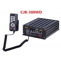 China 300 W Police Car Sirens Lightweight Black With Two Light Controller on sale