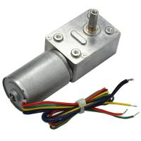 Quality 32mm Brushless DC Worm Gear Motor 24V for Precision Equipment / Household Appliances for sale