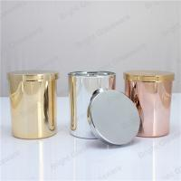 China New Products custome 9oz Christmas Candle Jars with lid on sale