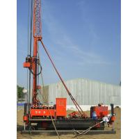 Buy cheap Full Hydraulic Jet Grouting Drilling Rig vice winch and electrical control power head from wholesalers