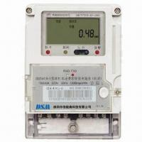 China Energy Power Meter, Metering, Electronic Single-phase Power Line Carrier Meter Remote Fee Charged on sale