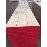 China Durable Exquisite  Wood Scaffold Planks Smooth Surface Strong Screw Holding on sale