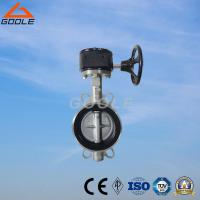 Quality Manual Soft Seal Wafer Type Butterfly Valve (GAD371X) for sale