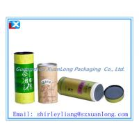 China Paper cardboard box tube for tea packaging on sale