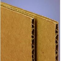 Quality 10mm Thin Corrugated Cardboard Sheet Light Weight UV Coating FSC Approved for sale