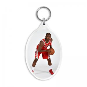 Quality Custom 3D Acrylic Key Rings with 3.7*5.7cm 3D Lenticular Printing Service For  Gifts for sale