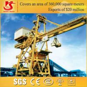 Quality Adopting european technology Single jib Portal Quay Crane for sale