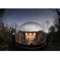 China Brown Transparent Inflatable Commercial Tent For Sale on sale