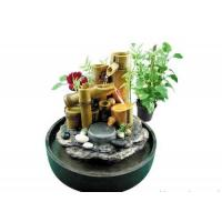 China Bamboo Water Fountains with Light on sale