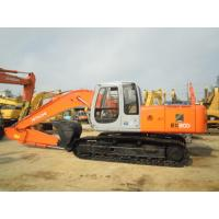 Quality New Paint Second Hand Excavators , Japan Hitachi Ex200 5 Excavator For Sale for sale