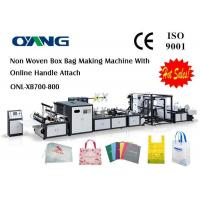 Quality Supplier Of High Efficiency Automatic Non Woven Fabric Bag Making Machine for sale