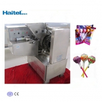 Quality 250-625kg/h Fruit Lollipop Candy Making Machine Automatic 220v for sale
