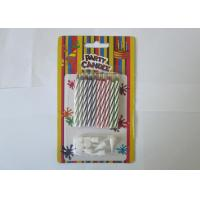 China Birthday Cake Magic Relighting Candles / Twisted Birthday Candles CE Approved on sale