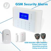 China APP Control Wireless GSM Home Alarm Security System Autodial Touch Screen on sale
