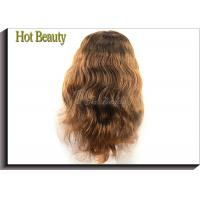 China Dyed Color Virgin Human Hair Extensions With Adjustable Straps Natural Hair Line on sale