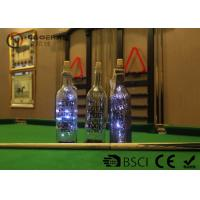 Fashionable Wine Bottle Led Lights , Wine Bottle Lights Battery Operated