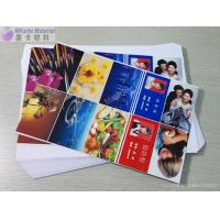 Moisture Proof A4 0.40mm Inkjet Printable PVC Sheets Ink Adhesion Printable