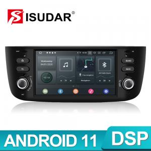 Quality 1 Din Android 11 Voice Control Car Radio 4G For Fiat Grande Punto Evo for sale
