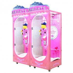Quality Single Prize Coin Operated Lottery Doll Vending Machine for sale