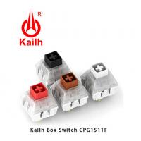 Buy cheap Kailh Box Switch Clicky Feeling White Switch On Mechanical Keyboard from wholesalers