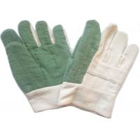 Quality Knit Cuff Gardening Heat Resistant Gloves Natural White Absorbing Sweat for sale
