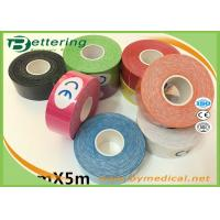 Colored Kt Therapeutic Tape , Sports Medicine Kinesiology Tape For Shoulder Pain