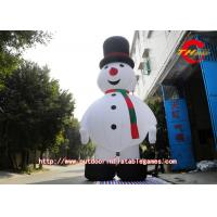 Best Commercial Snowflake Ball Inflatable Christmas Decoration Snowman wholesale