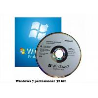Quality Anti Fake Microsoft Windows 7 Online Activation Key Professional Version for sale