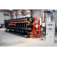"""Quality Expanded Polystyrene Block Forming Machine 3/8"""" Wall Thickness for sale"""