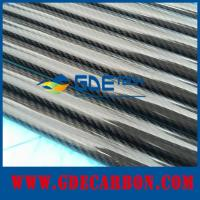 Quality Glossy carbon fiber tube for sale